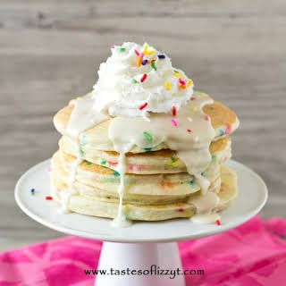 Funfetti Cake Batter Pancakes.