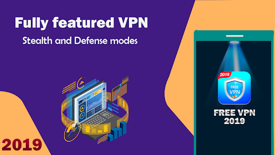 Free VPN Proxy: Secure Shield & Fast Hotspot  App Download For Android 8