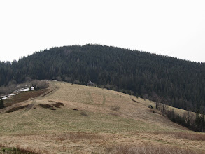 Photo: 16.Gorc (1228 m) z okolic Gorca Kamienickiego (1160 m).