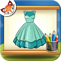 How to Draw Dresses Step by Step Drawing App icon