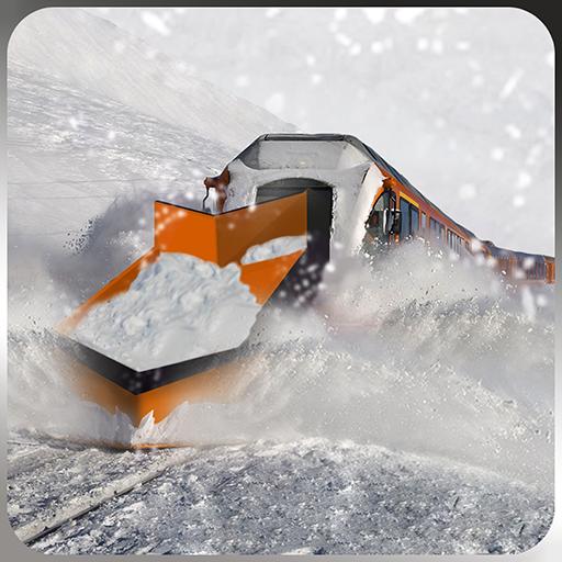Snow Plow Bullet Train Driver