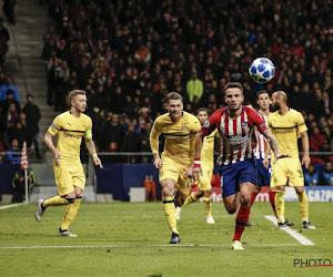 Ligue des Champions : l'Atlético Madrid ne faillit pas, Mertens et Meunier se quittent dos-à-dos
