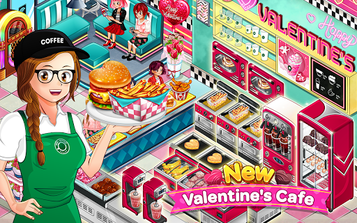 Cafe Panic: Cooking Restaurant apkpoly screenshots 7
