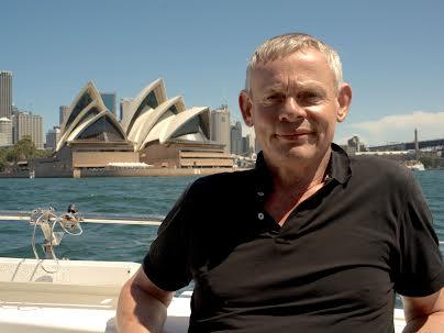 Martin Clunes - på ø-hop i Australien