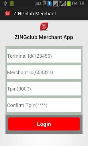 ZINGclub Merchant