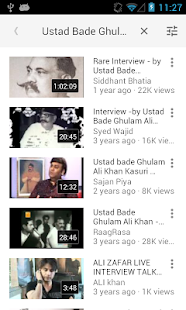 Ustaad Bade Gulam Ali Khan- screenshot thumbnail