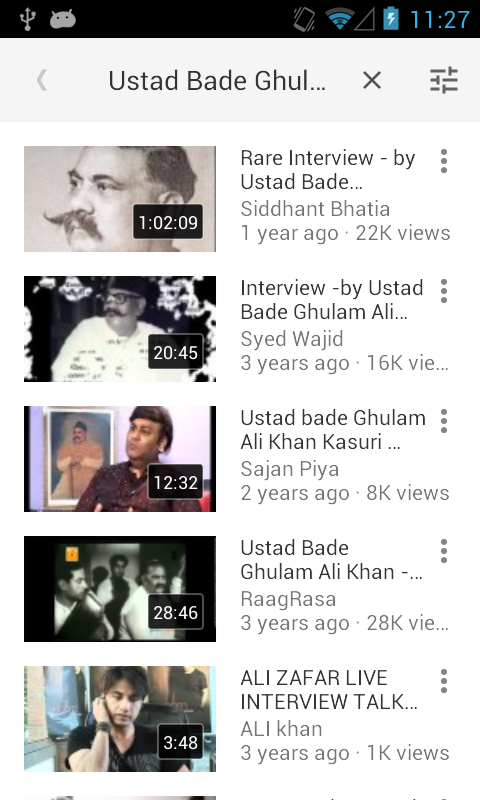 Ustaad Bade Gulam Ali Khan- screenshot
