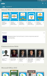 Skillsoft Learning App- screenshot thumbnail
