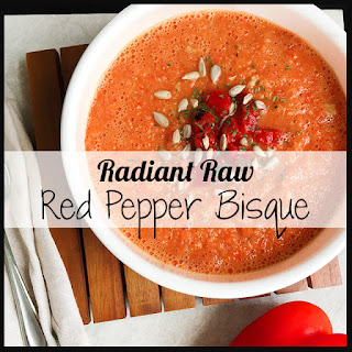 Food Babe's Radiant Raw Red Pepper Bisque