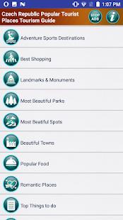 Czech Republic Top Tourist Places Tourism Guide - náhled