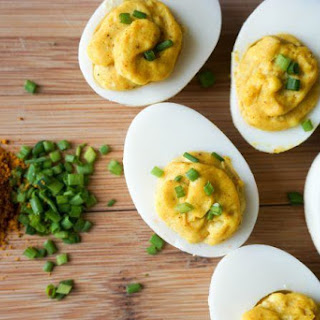 Curry Deviled Eggs Recipe