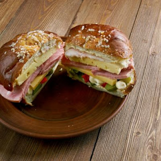 Simple Muffuletta Sandwich