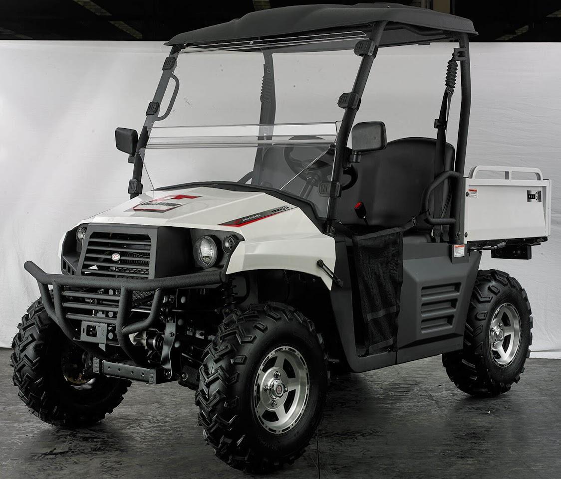 400cc 4x4 Hisun Farm Utility Vehicle Side By Side UTV - White