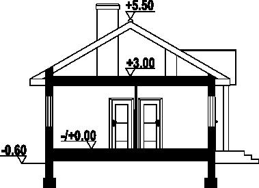 Miłków dws - Przekrój