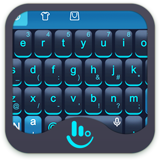 Blue Science Keyboard Theme Android APK Download Free By Powerful Phone