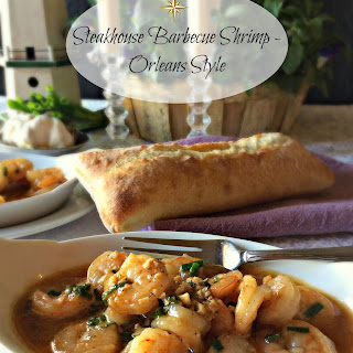Steakhouse Barbecue Shrimp - Orleans Style.