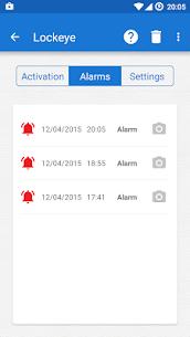 Download Lockeye : Wrong password alarm & Intruder selfie App For Android 2