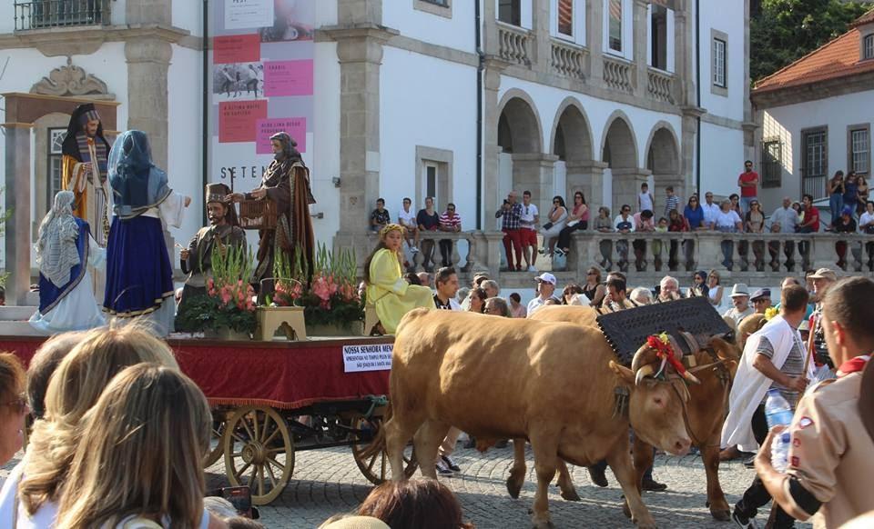 Igreja das Chagas acolheu andores da Procissão do Triunfo