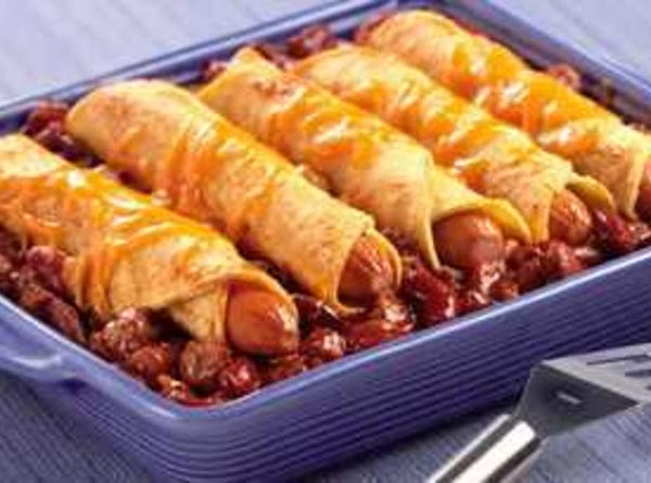 Chili Dog Casserole Recipe