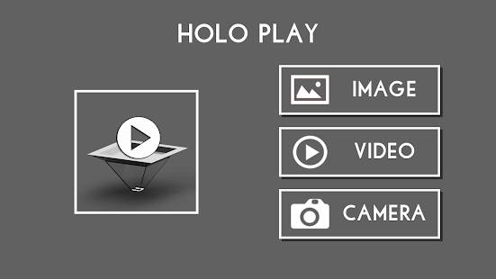Hologram Image and Video Player - Holo Play Screenshot