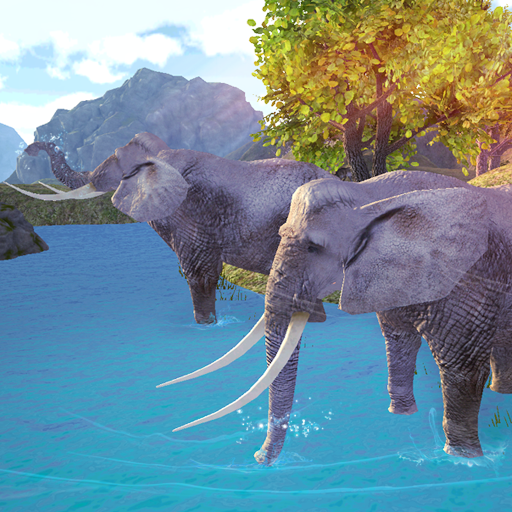 大象模拟器躁狂症 模擬 LOGO-玩APPs