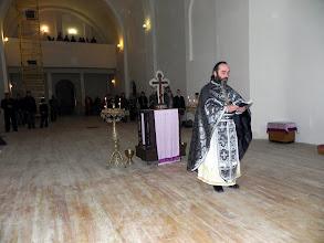 Photo: Заамвонну молитву читає о. Станіслав Аштраф'ян