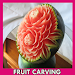 Fruit Carving Design Icon