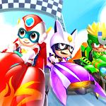 Robot Transformer Car Racing Track icon