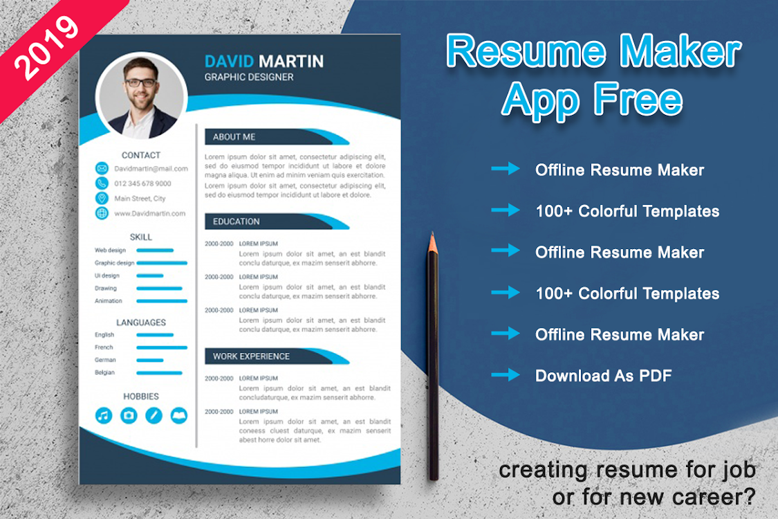 Resume Maker Free Cv Maker Android Apps Appagg