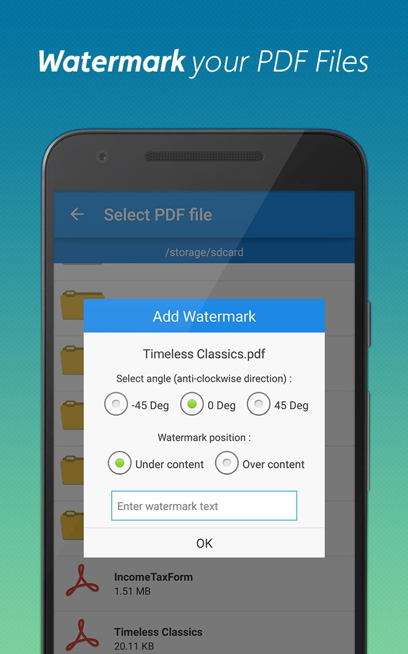 PDF converter pro & PDF editor - pdf merge Screenshot 5