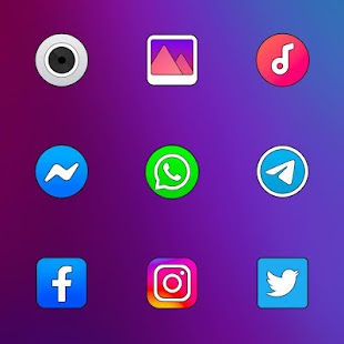 Color OS - Icon Pack Screenshot