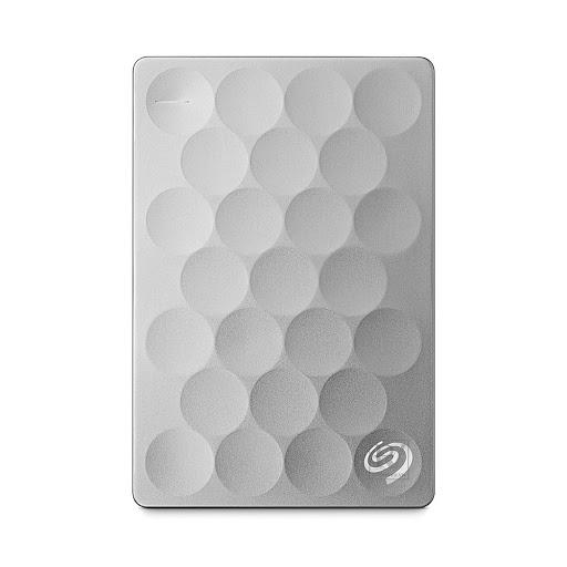 ổ cứng HDD Seagate 1TB Backup Plus Ultra Slim 3.0, 2.5'' (Bạc)