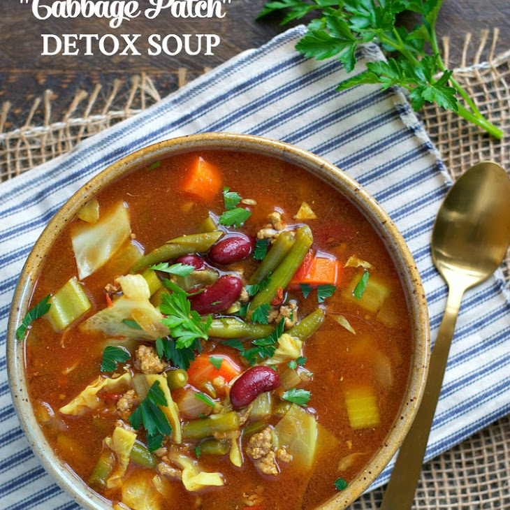 "Slow Cooker ""Cabbage Patch"" Detox Soup"
