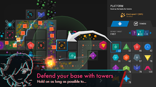 Infinitode 2 – Infinite Tower Defense MOD (Unlimited Money) 1