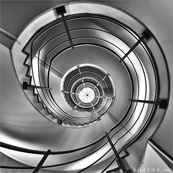 Photo: up! or down?  The staircase in our companies building ...  a contribution to #monochromemonday +Monochrome Monday +Charles Lupica +Hans Berendsen +Jerry Johnson +Manuel Votta