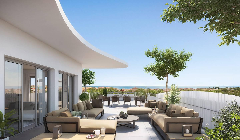 Appartement avec terrasse en bord de mer Serignan