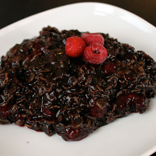 Dark Chocolate Raspberry Oatmeal