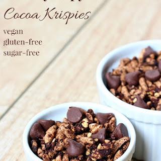Healthy Copycat Cocoa Krispies [vegan + gluten-free]