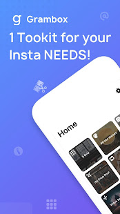 Gbox – Toolkit for Instagram. 1