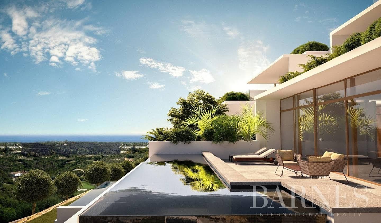 Appartement avec terrasse et piscine Casares
