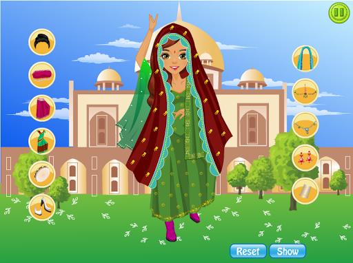 Dress Up Games Indian girl