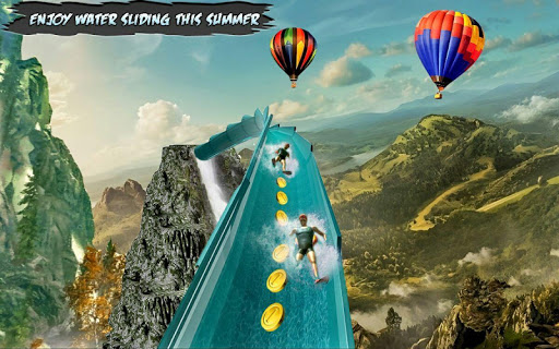 Water Park Slide Adventure 1.1 APK MOD screenshots 2