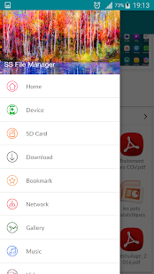 SS File Manager and File explorer - náhled