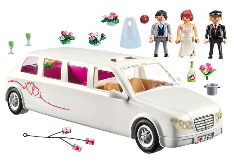 Contenido real de Playmobil® 9227 Limusina Nupcial