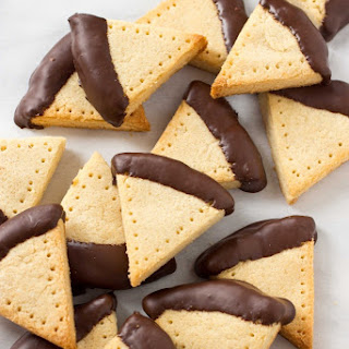 Chocolate Dipped Grain Free Shortbread