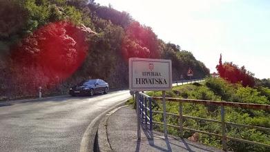 Photo: Etwas später sind wir schon in Kroatien. In BUJE beenden wir die Etappe nach 169 KM,  6 3/4 Stunden Fahrzeit, mit etwas über 25 KMH im Schnitt. 1085 HM waren es heute.