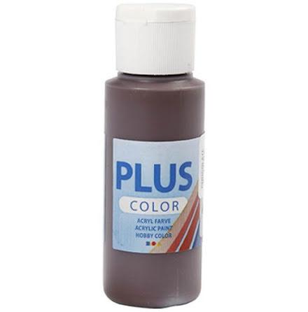 Hobbyfärg Plus color - choklad, 60 ml