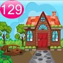 Cartoon Garden House 129 icon