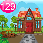 Cartoon Garden House 129