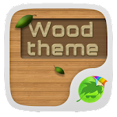 Wood Theme Keyboard